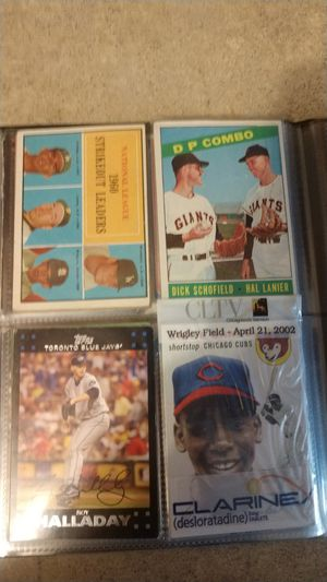 Rare Vintage Baseball Cards for Sale in Chicago, IL