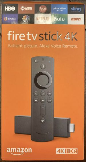 Programmed Fire 4K TV Stick for Sale in Grand Prairie, TX