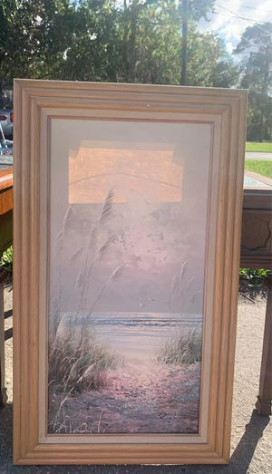 beach painting for Sale in New Port Richey, FL