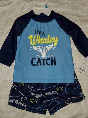 2pc Carter's Swimset size 6 month's. -NEW for Sale in Renton, WA
