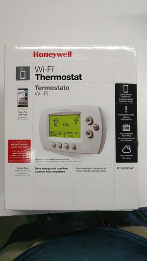 Honeywell WiFi Thermostat RTH6580 (Open Box new) for Sale in City of Industry, CA