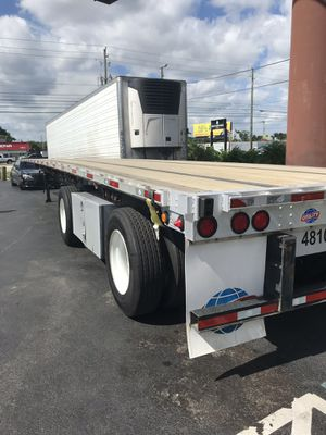 2015 Utility Flatbed Trailer for Sale in West Palm Beach, FL