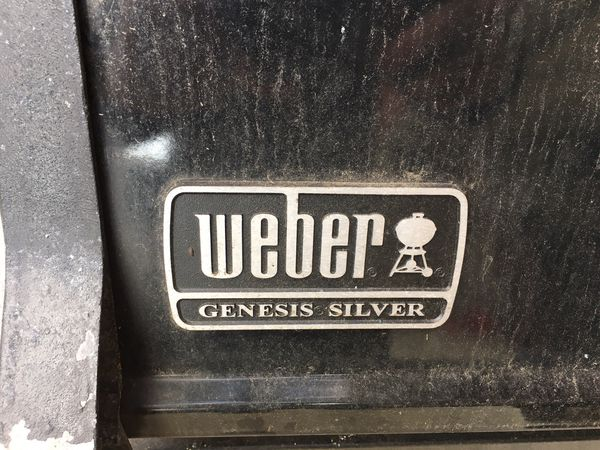 Weber Grill. Very well used.