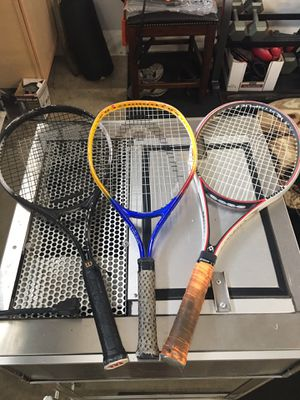 Tennis rackets for Sale in Gladstone, OR
