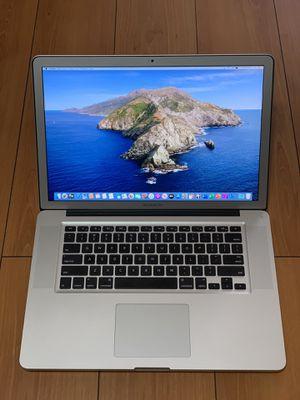 """2012 15"""" MacBook Pro i7 16GB RAM 240GB SSD NVIDIA GPU Near Mint for Sale in Garden Grove, CA"""