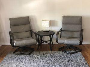 Outdoor ,indoor furniture set 3PC Rocker chair for Sale in Los Angeles, CA