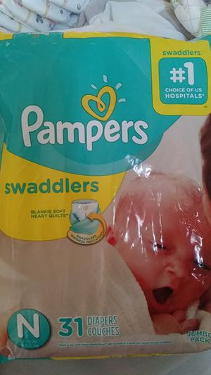 Pampers Newborn diapers for Sale in Denton, TX