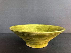 Retro Green Handmade Bowl for Sale in Midland, MI