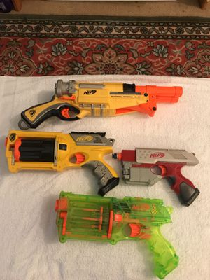 4 Nerf guns for Sale in New York, NY