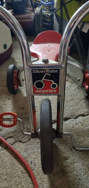 SILVER RIDERS TRICYCLE RARE for Sale in Sidney, OH