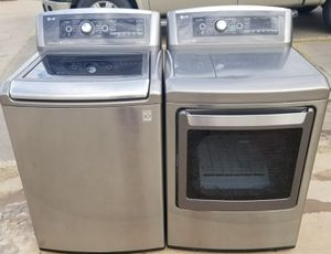 LG washer and dryer for Sale in Lubbock, TX