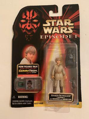 1998 Star Wars Episode 1 Anakin Skywalker Tatooine CommTech Chip Talking Figure for Sale in Katy, TX