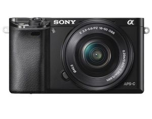 Sony Alpha a6000 Mirrorless Digital Camera with 16-50mm Lens for Sale in Richmond, VA
