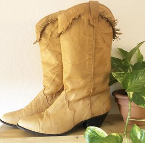 Western fringe boots for Sale in Los Angeles, CA