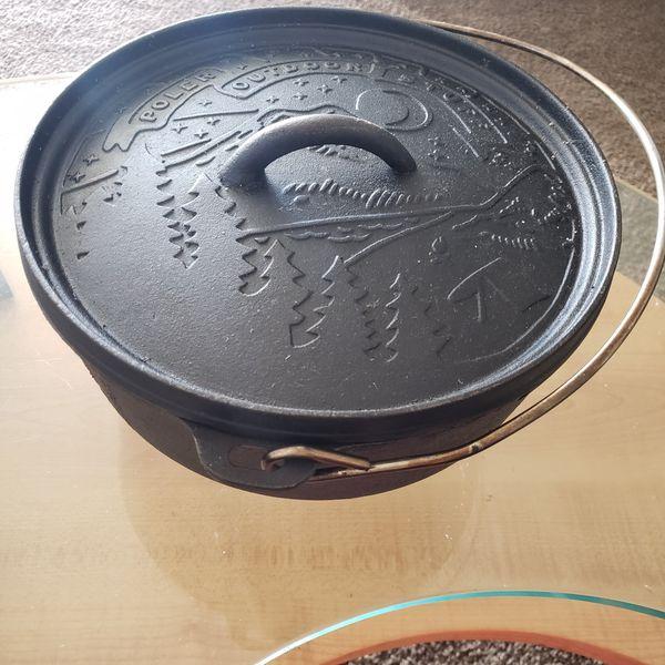 "10""Cast Iron Dutch Oven"