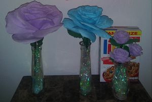 Crepe paper roses for Sale in Tempe, AZ