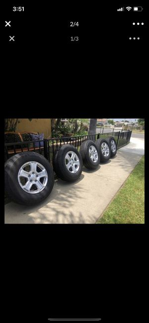 Jeep Wrangler wheels tires for Sale in Industry, CA