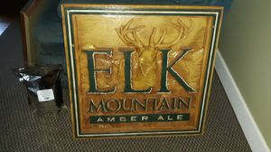 Carved beer sign for Sale in Beavercreek, OR