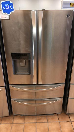 NO CREDIT!! Kenmore LOWEST PRICES! Refrigerator Fridge 36in Wide #1558 for Sale in Laurel, MD