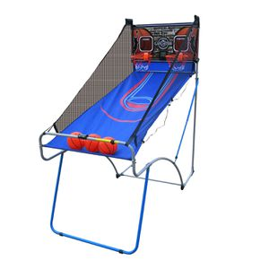 New indoor basketball arcade game electronic scoring hoop backboard system - folds for storage for Sale in Colorado Springs, CO