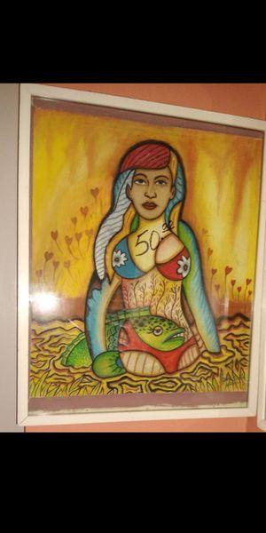 Cuadro pintado a mano.x$50 . No tiene rebaja !firme for Sale in Miami, FL