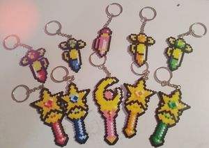 Sailor moon wands keychains handmade for Sale in Houston, TX