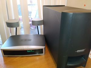 BOSE ps3-2-1 'll power speaker system(no remote control£ for Sale in Pleasanton, CA