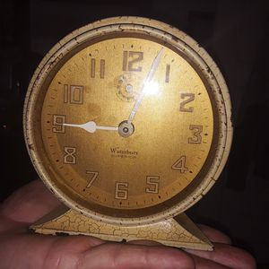 Selling ALL!! Waterbury Superior Antique vintage Alarm clock for Sale in Elyria, OH
