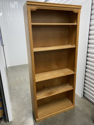 REALLY NICE WOODEN SHELF! 71''High, 31''Wide,10''Deep! DELIVERY AVAILABLE FOR $25 for Sale in Portland, OR