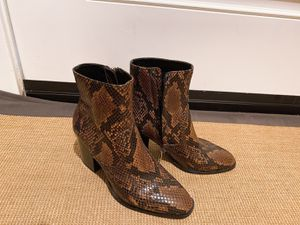Snakeskin print ankle boots for Sale in Paramount, CA