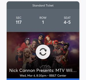Wild n out tickets for Sale in Plantation, FL