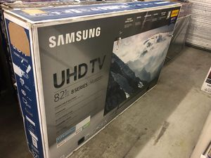 "82"" SAMSUNG UN82NU800D 4K UHD HDR LED SMART TV 240 MR 2160P (FREE DELIVERY) for Sale in Lakewood, WA"