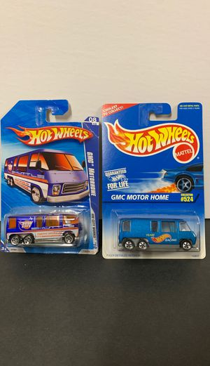 Pair of Hot Wheels Diecast GMC Motor Home for Sale in Escondido, CA