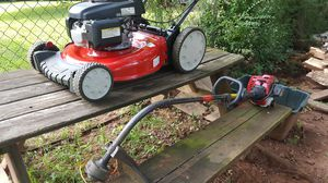 Troy Bilt Honda Mower/Weed Eater. for Sale in Sterling, VA