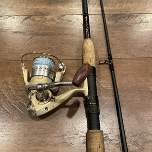 Ugly Stik Elite Fishing Rod and Pflueger Trion Reel for Sale in Battle Ground, WA