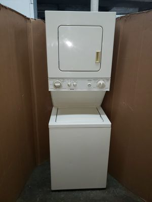 "Kenmore ""24 inches"" stackable washer and dryer set excellent conditions 90 days warranty for Sale in Baltimore, MD"