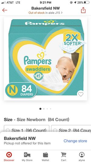 Pampers (Newborn & size 1) for Sale in Shafter, CA