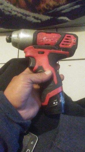 Milwaukee m12 impact drill driver for Sale in Stockton, CA