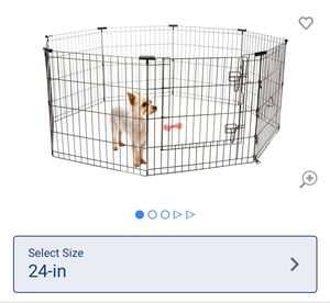 "24"" Dog Pen for Inside or Yard $25 OBO for Sale in San Diego, CA"