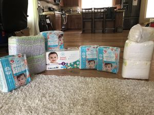 Diaper lot! Honest Size 2 & 3 Pampers Size 1, Luvs 3 for Sale in Portland, OR