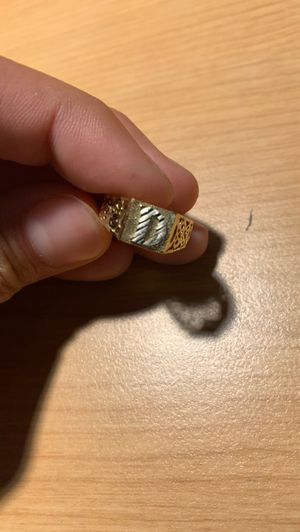 "Gold ""D"" Ring for Sale in Chico, CA"