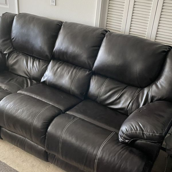 Set Of Reclining Sofas And Chair
