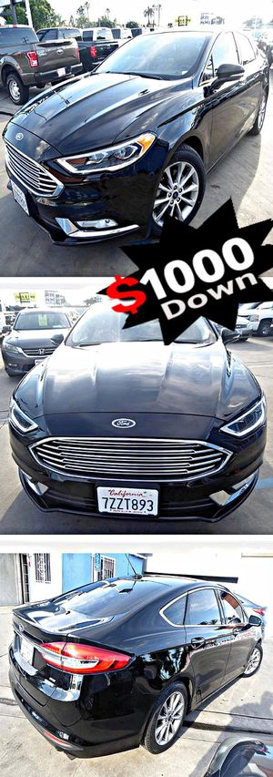 2017 Ford Fusion SE for Sale in South Gate, CA