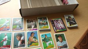 Box of 1989 baseball cards for Sale in San Francisco, CA