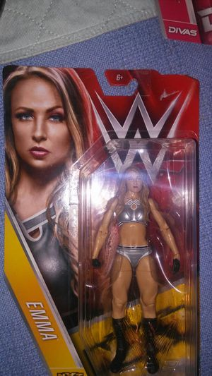 WWE DIVA ACTION FIGURE EMMA NXT for Sale in Dallas, TX