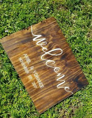 Custom Wedding Signs ! for Sale in Hialeah, FL