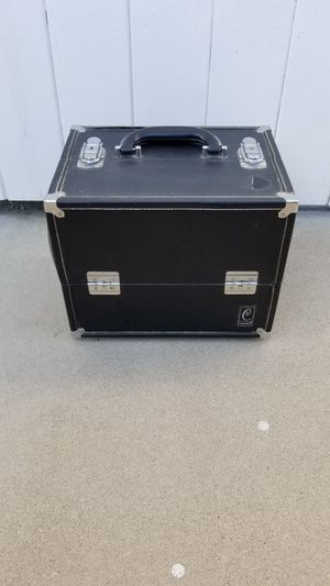 Caboodle black makeup, cosmetics box; vanity case for Sale in Bellflower, CA