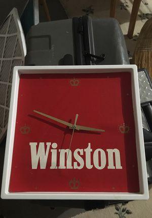 Winston cigarette clock for Sale in Orlando, FL