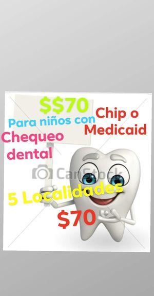 Cash si ya les toca el chequeo dental a sus hijos for Sale in Garland, TX