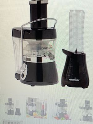 Fusion Juicer with booster blender for Sale in Upland, CA